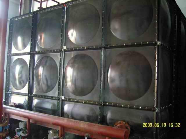 搪瓷钢板水箱-玻璃钢水箱